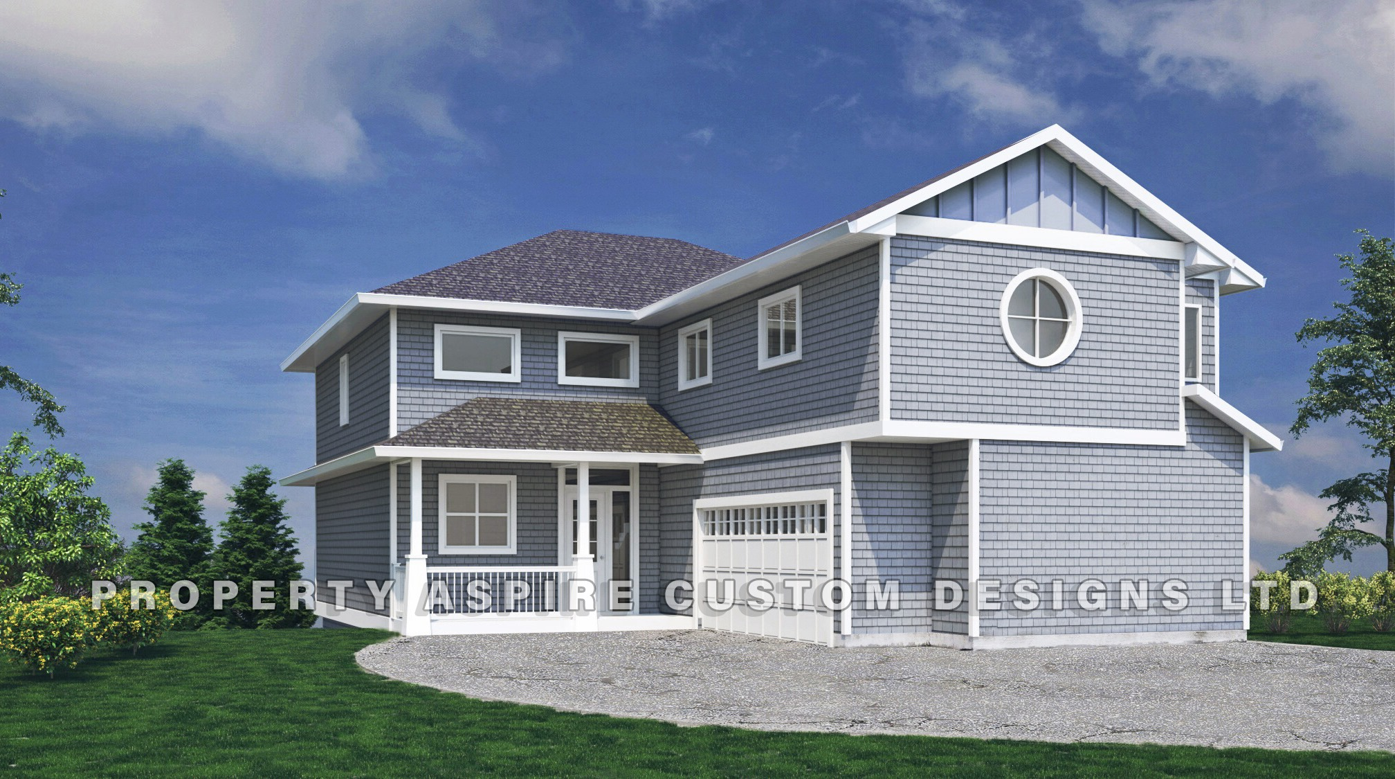 Concept Rendering for new home project