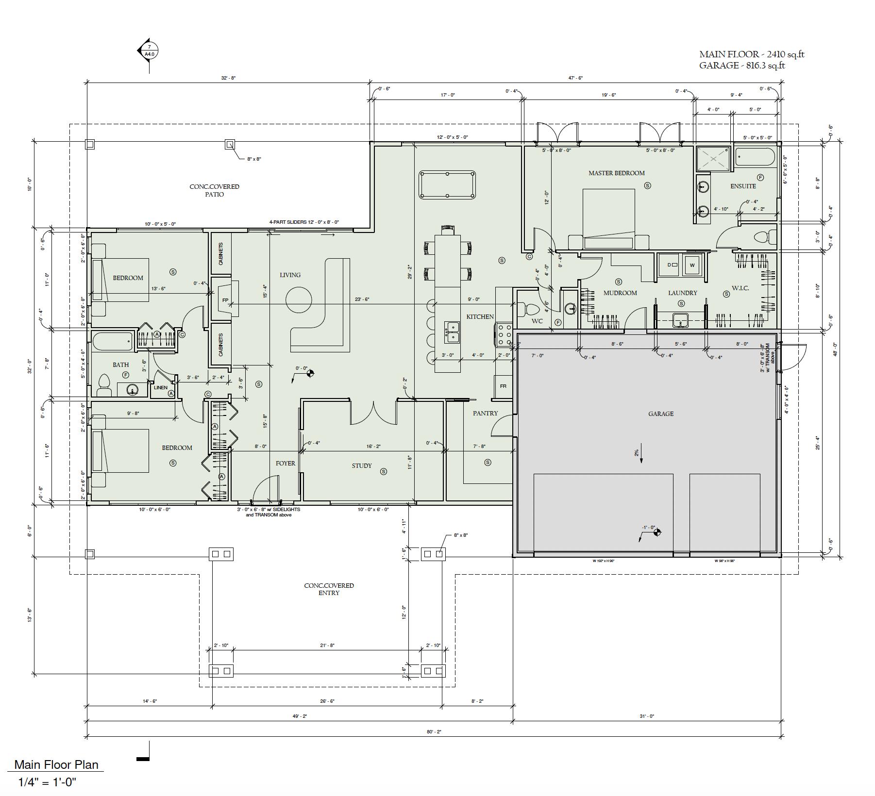 Rancher floor plan